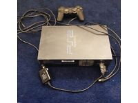 PlayStation 2 with controller