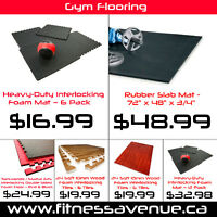 Heavy-Duty Rubber Gym Flooring - Foam Gym Flooring – Brand New