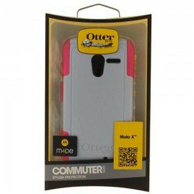 OtterBox Commuter Series Case for Motorola Moto X - Gray/Pink on Rummage