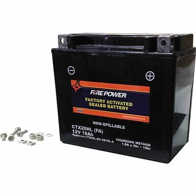 Fire Power Factory Activated Sealed Maintenance Free Battery - CTX20HL FA