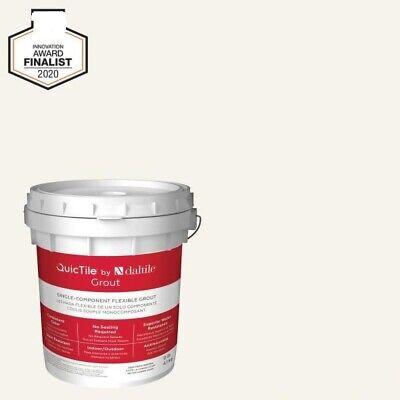 Daltile QuicTile D158 Ivory 9 lb. Pre-Mixed Urethane Grout