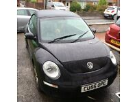 2006 1.6 vw beetle convertible petrol