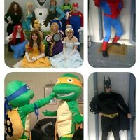 Hire a Princess or a Character for a Party or Event