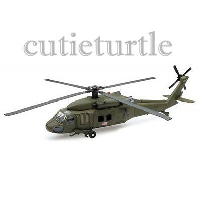 New Ray 25563 A Sky Pilot UH-60 Black Hawk Helicopter 1:60 Green for sale  El Monte