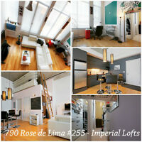 Fully Furnished Loft with Indoor Parking - Rooftop Pool,Gym,BBQ
