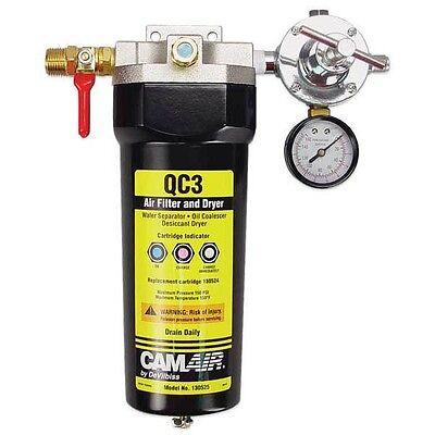 Devilbiss QC3 3-Stage Desiccant Air Filter Dryer Separator 130525 -