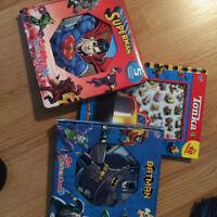 3 puzzle books