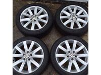 MK5 Golf GT TDI alloy wheels