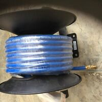 New - Never used Air Compressor Hose on reel