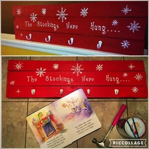 Handmade Christmas Stocking Holders Kingston Kingston Area image 1