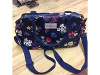 Original Cath Kidston blue floral pattern bag