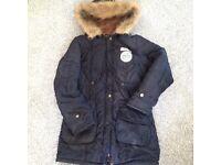 Size 8-12 parka coat