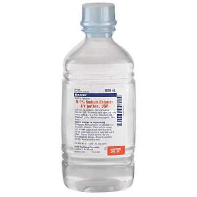 BAXTER BSCI050124 Saline Solution, 1000 mL