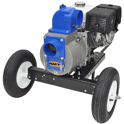 Amt Pump 3994-96 - 530 Gpm 4 Electric Start Trash Pump W Honda Gx390 Engi...