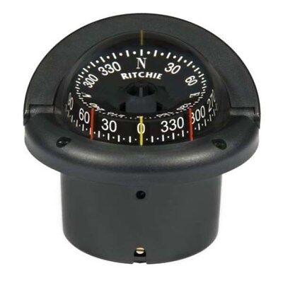 Ritchie Helmsman Black Flush Mount Compass (Helmsman Flush)
