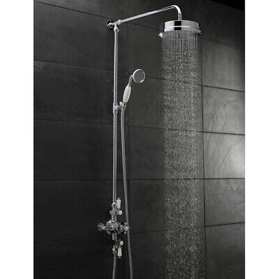 Hudson Reed Exposed Thermostatic Shower Valve With Luxury Riser Kit