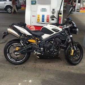 2012 Street Triple R with Tons of extras