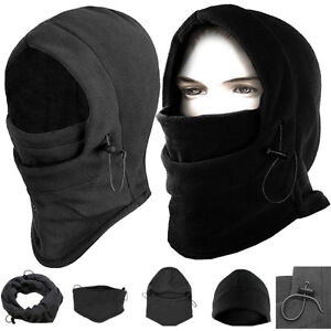 2015-Thermal-FLEECE-6in1-BALACLAVA-HOOD-POLICE-Army-Cap-SWAT-Winter-SKI-MASK-Hat