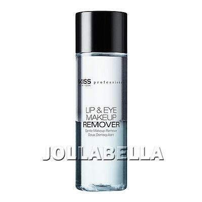 Liquid Waterproof Eye Makeup Remover (Kiss Lip & Eye Makeup Remover Gentle Liquid Waterproof Oil Free Sensitive 3.38oz)