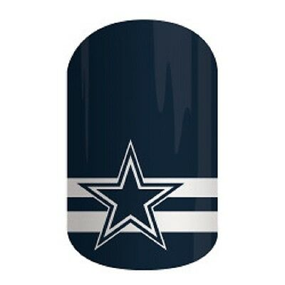 Jamberry NFL Dallas Cowboys Nail Wraps~Full Sheets
