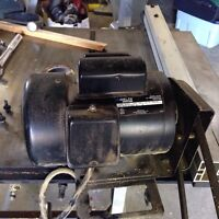 Delta table saw motor 1.5 hp