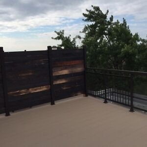 NDG 3 1/2 penthouse with deck