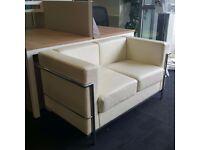 Le Corbusier Style 2 Seater Sofa
