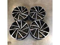 """18 19"""" Inch spielburgs Style Alloy Wheels VW Golf MK5 MK6 MK7 MK7.5 Audi A3 Seat Leon Caddy 5x112"""