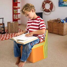 NEW Kids Toy Storage Stool - Perfect Xmas Gift?