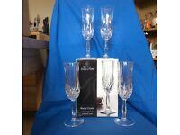 Royal Doulton Crystal Flutes