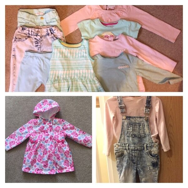Girls Clothing Bundle 2-3 years 12 items