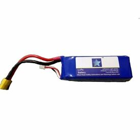 2pcs new original (Cheerson CX-20 Extreme Light) LiPo 3s batteries suitable for an RC drone/ Car.