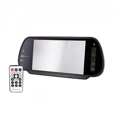 Auto Monitor Spiegel Rückspiegel mit Bluetooth Freisprecher MP5 FM Transmitter