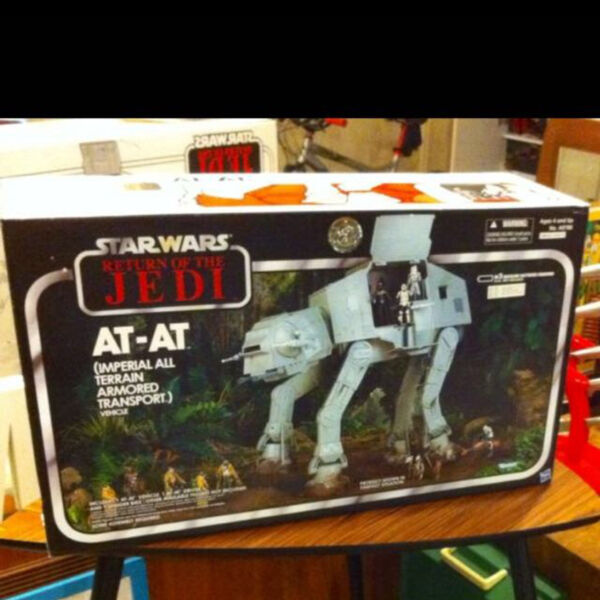 StarWars AT-AT Imperial All Terrain Armored Transport Brand New In Box