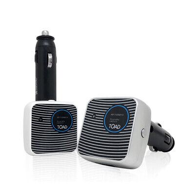 Car Air Purifier Mini 12V 24V Ionizer Cleaner Freshener USB Home Anion Auto