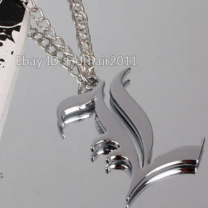 Hot Cool Animation Around Death Note L Logo Necklace Comic Pendant Unisex Chains