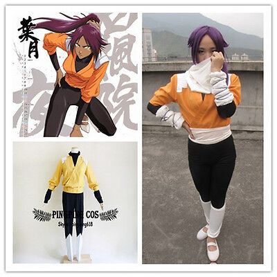 Yoruichi Shihouin Kostüm (Bleach Cosplay Costumes 2st Shihouin Yoruichi しほういん よるいち any size * Custom-made)