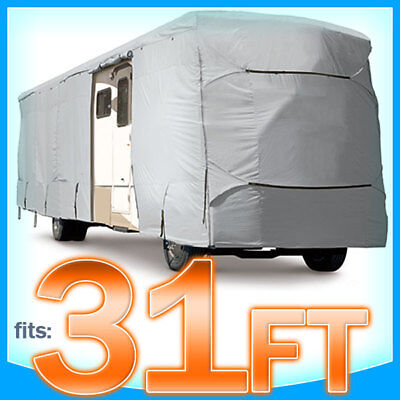 31' ft Motorhome RV Cover Class A B C Trailer Camper Storage Covers Protection