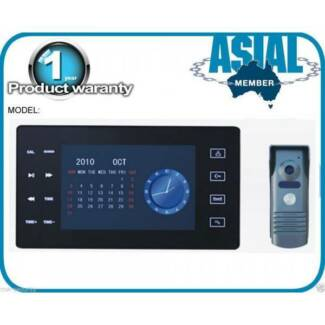 Intercom system recording function 1 monitor 1 door station Kingsgrove Canterbury Area Preview