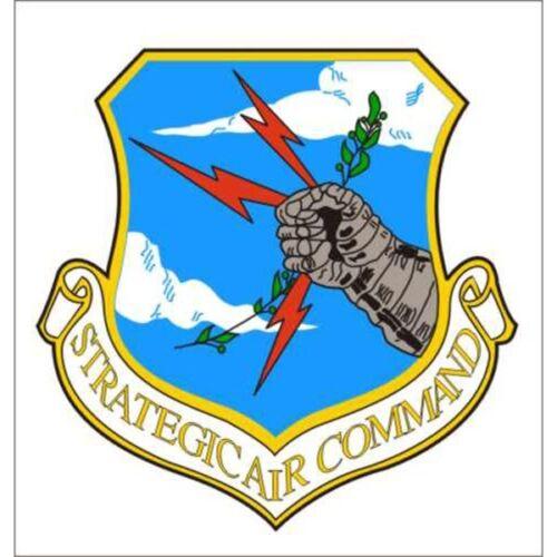 USAF Air Force Strategic Air Command 3.5 Inch Clear Window Decal Sticker USA