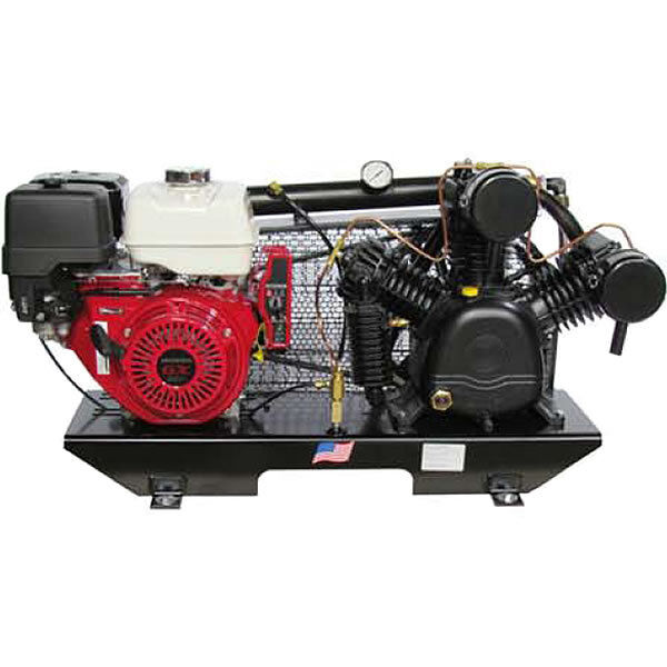 Puma 13-hp Tankless Two-stage Truck Mount Air Compressor W/ Electric Start Ho...