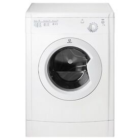 Almost New Indesit 7kg vented Tumble Dryer