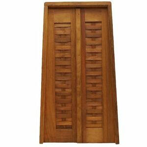 Ocean Yachts 33 X 18 3 4 Inch Teak Boat Double Door Panel