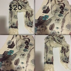 Floral scarf beautiful design scarf /hijab