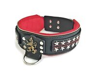 """""""The general"""" handmade leather dog collar from bestia collars"""