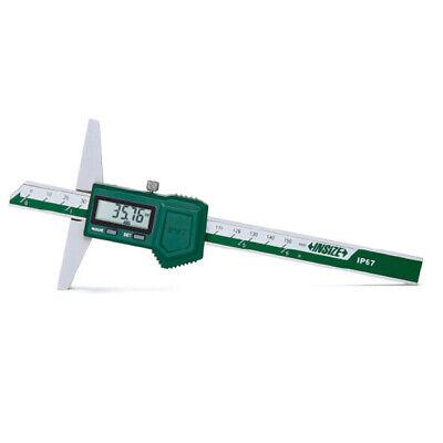 Insize Electronic Digital Waterproof Depth Gauge 0-60-150mm 1149-150