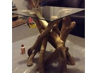 Driftwood coffee table or side table
