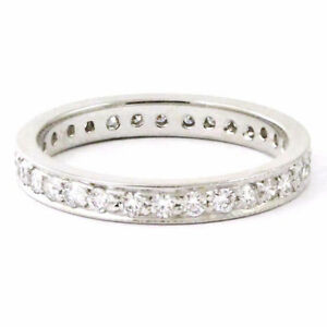 18k White Gold Eternity Diamond Anniversary Band (0.6 tdw) 3660