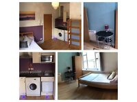 Wifi & bills included Furnished pets considered stunning Town Centre Studio Apartment no agents fees