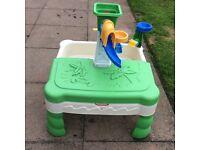 Little tikes sandy waterpark table